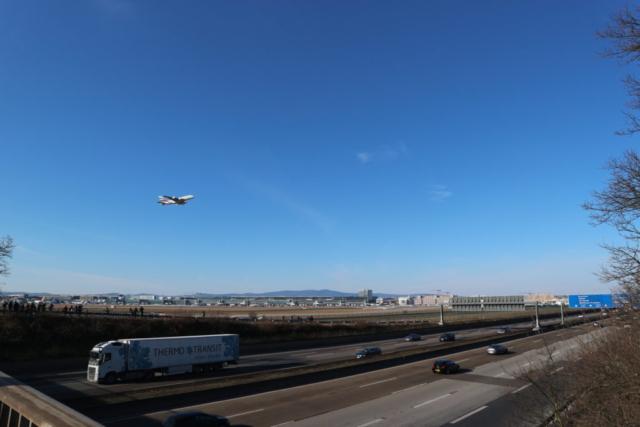 Flughafen-Aussichtsplattform A5