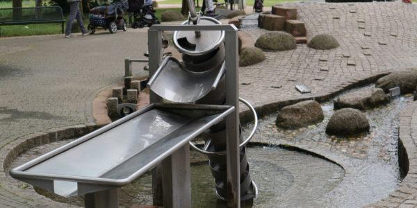 Wasserspielplatz im Palmengarten