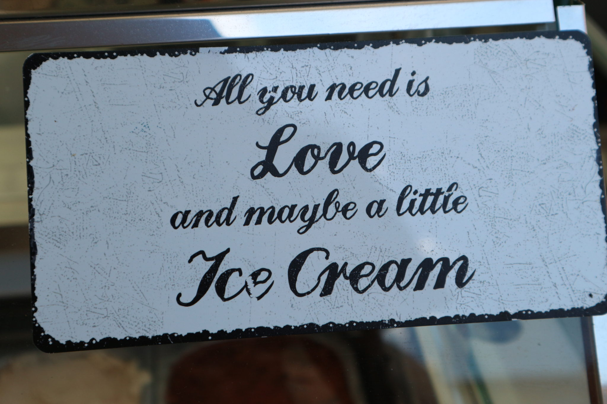 Genau – Liebe & Eis!