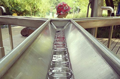 Der Wasserlehrpfad der Mainova in Bornheim