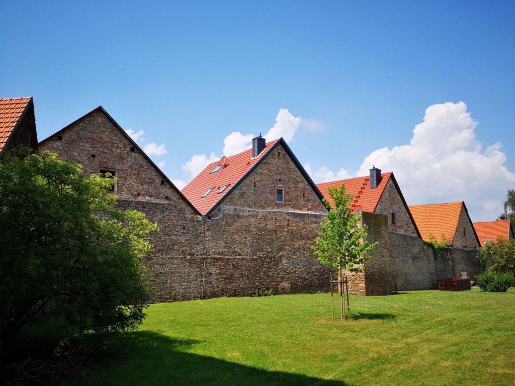 Die Stadtmauer von Bad Orb