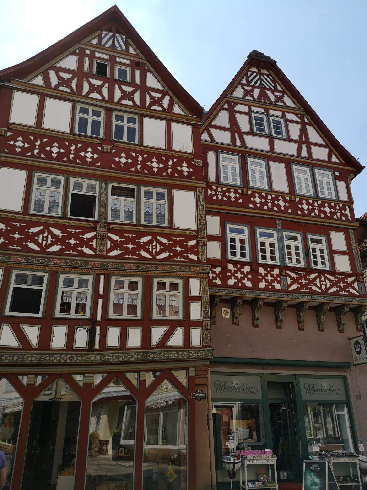 Schöne Fachwerkhäuser in Bad Orb