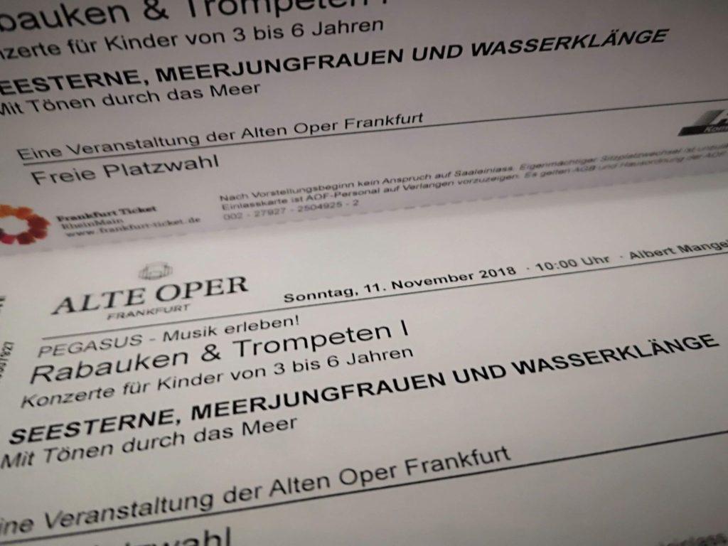 Kinderkonzert Pegasus in der Alten Oper in Frankfurt - Frankfurt mit Kids
