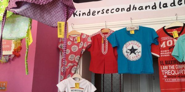 Monsters Seconhandladen für Kinder