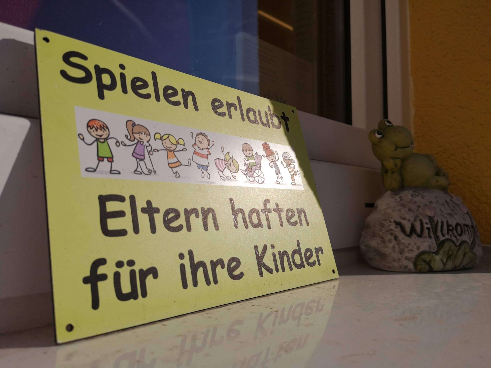 Spielen ausdrücklich erlaubt in der Krötenkiste - Frankfurt mit Kids