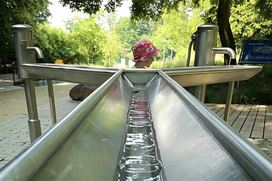 Wasserlehrpfad Mainova Frankfurt Bornheim