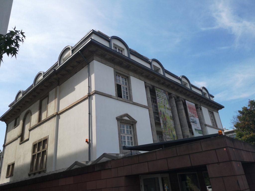 In den Sommerferien findet im Deutschen Architekturmuseum die LegoBaustelle statt