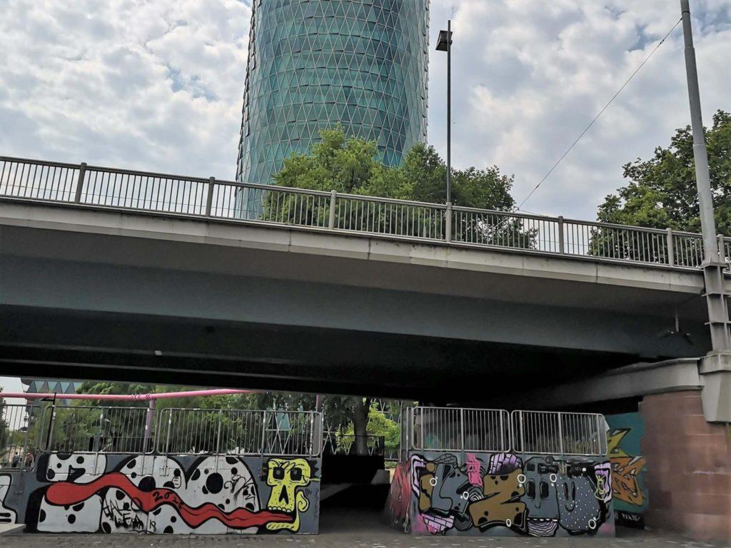 Skaterpark an der Friedensbrücke