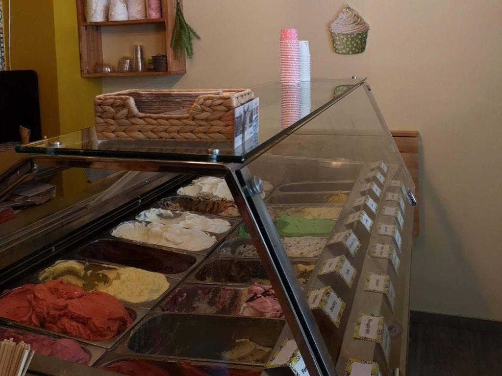 Tolle Sorten im Eiscafé Blackberries