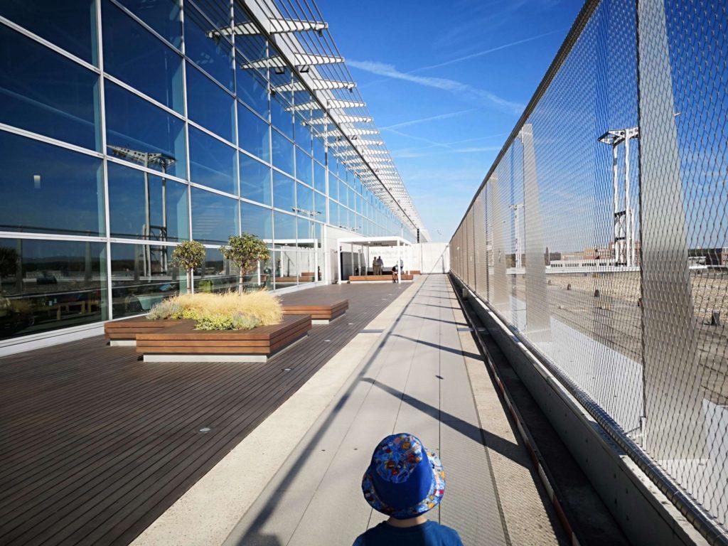 Besucherterrasse Flughafen Frankfurt - Frankfurt mit Kids