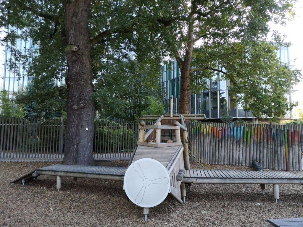 Spielplatz im Palmen-Express im Palmengarten Frankfurt - Frankfurt mit Kids