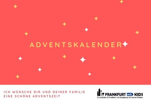 Adventskalender DIY - Frankfurt mit Kids
