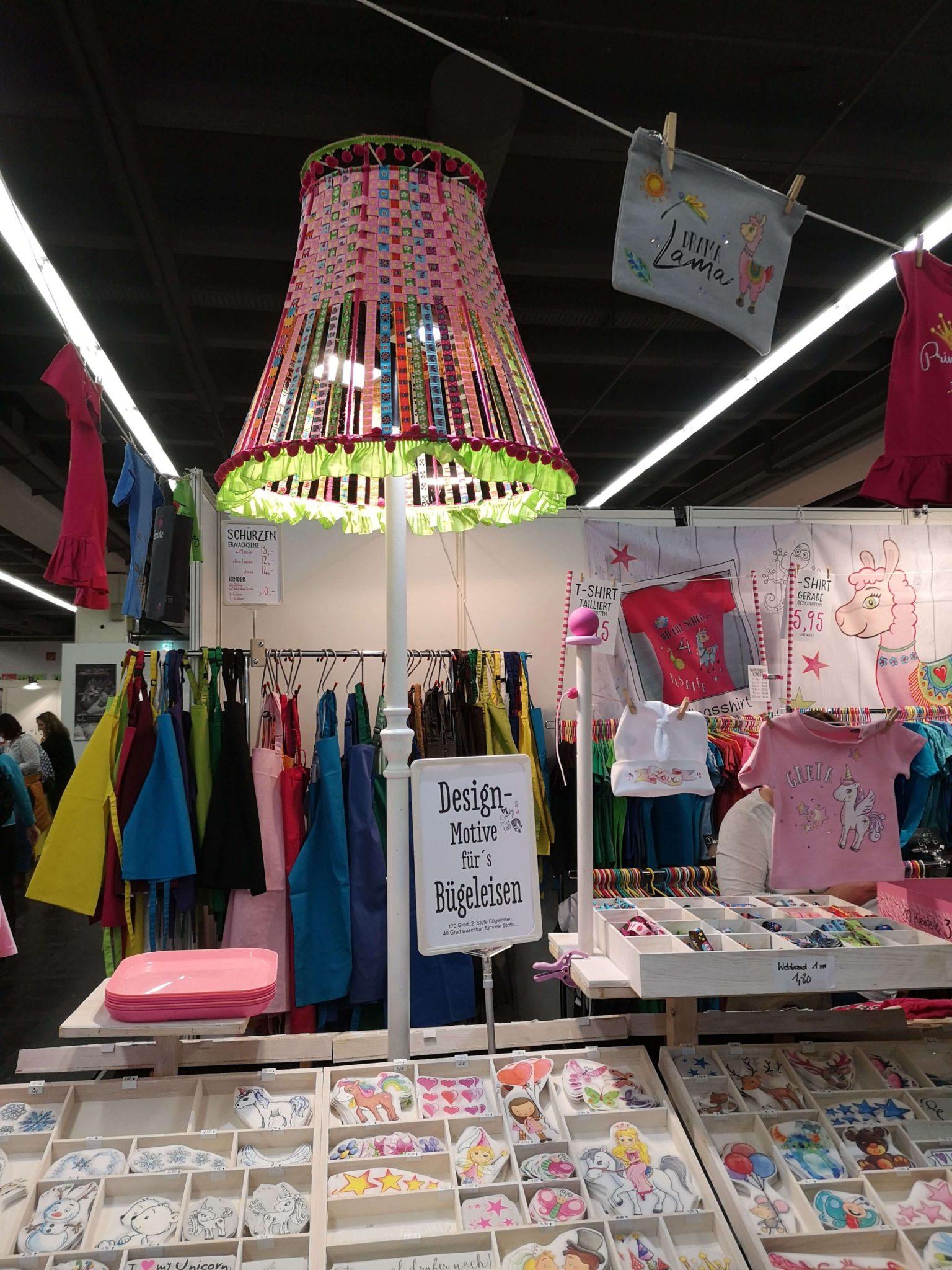 Schrumpffolie auf der Kreativ Welt in Frankfurt - Frankfurt mit Kids