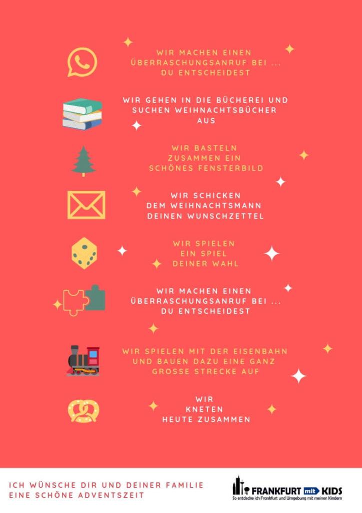 Der Adventskalender als DIY von Frankfurt mit Kids