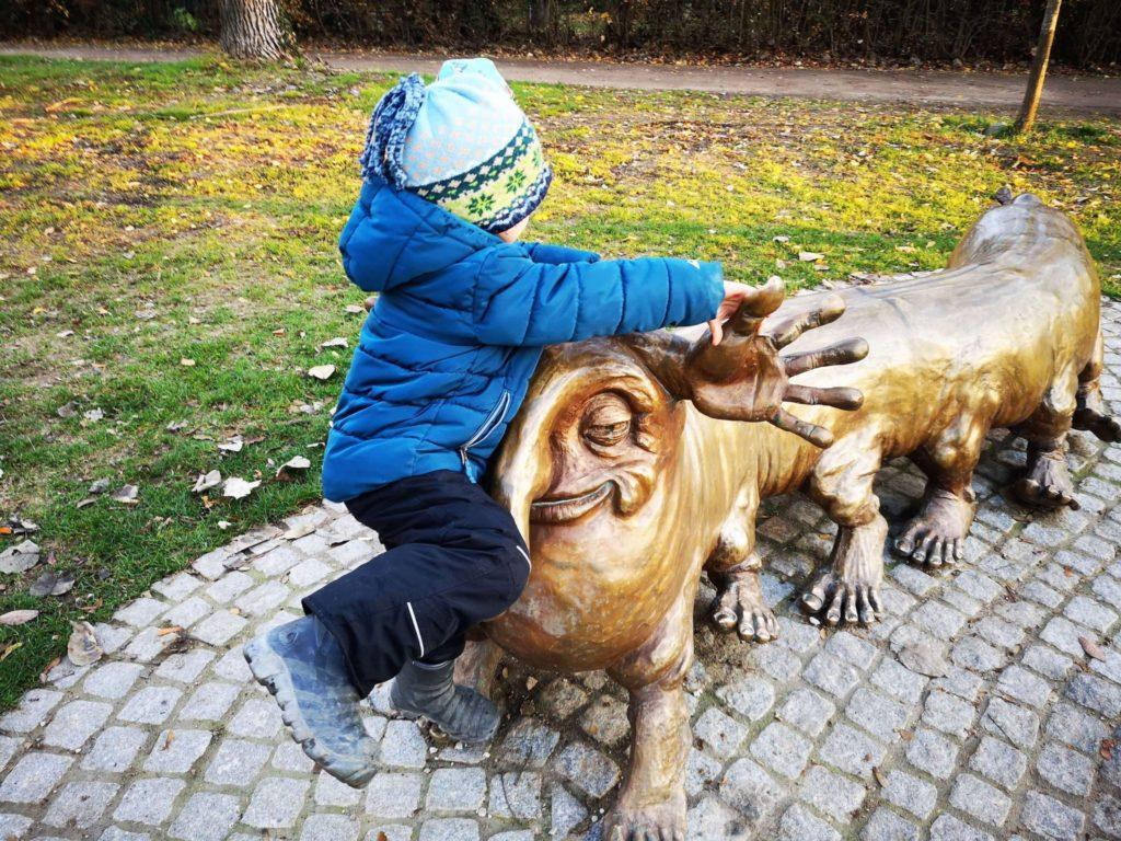 Der Barfüßer im Solmspark Rödelheim