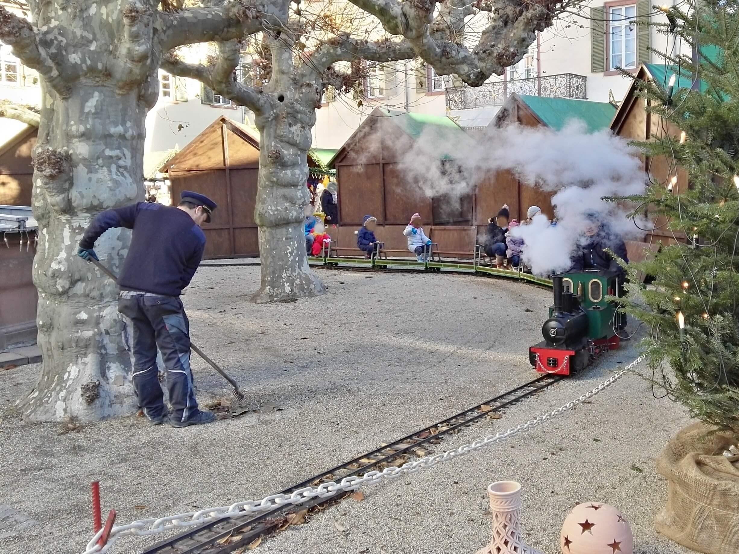 Dampfeisenbahn Weihnachtsmarkt Bad Homburg am Schloß