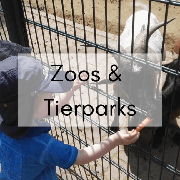 Zoos und Tierparks