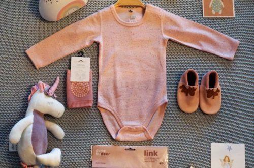 Flat Lay Übersicht in rosa
