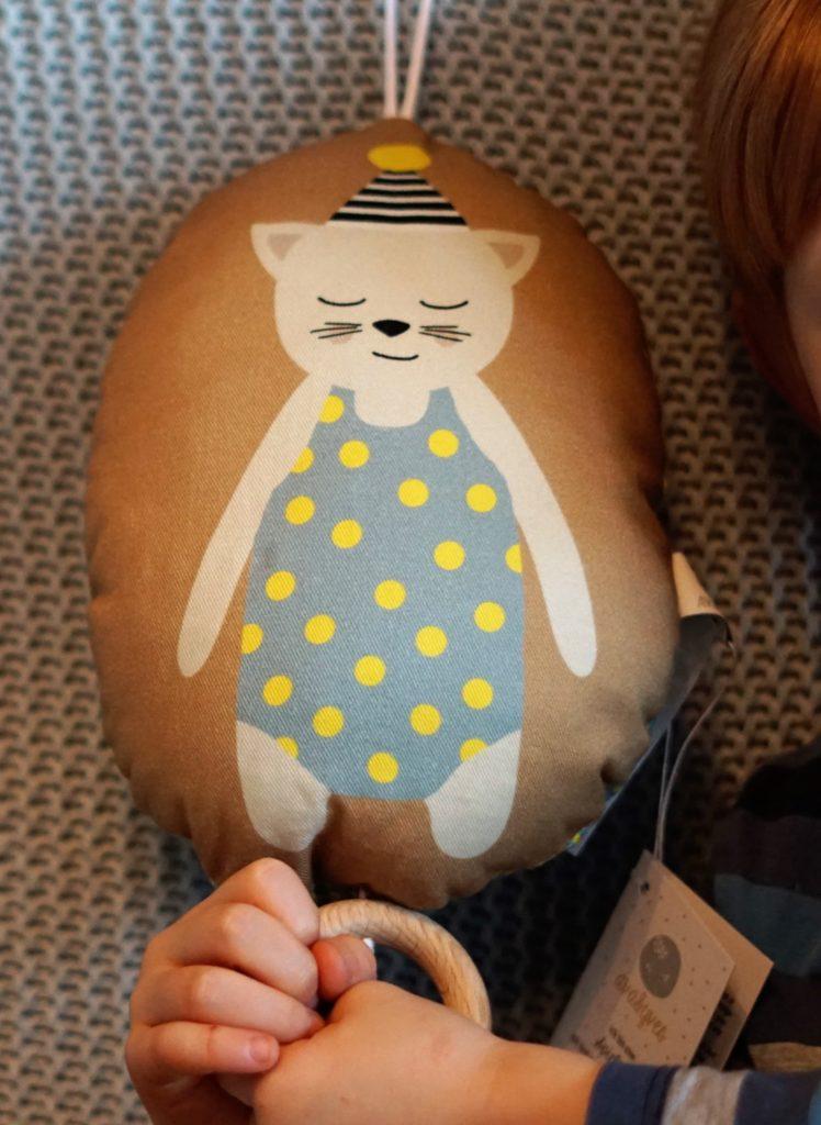 Spieluhr-Liebling Katze