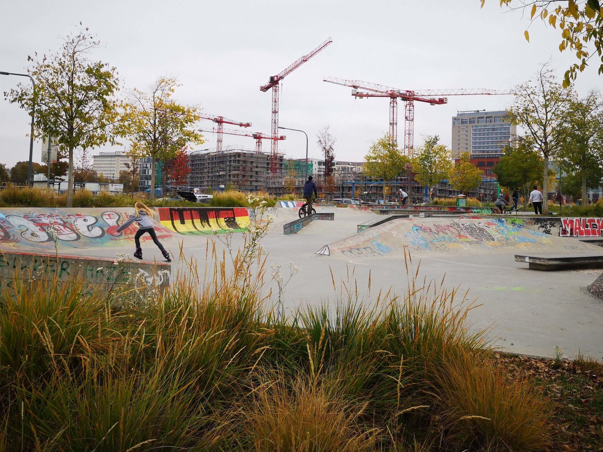 Skatepark Frankfurt Ostend