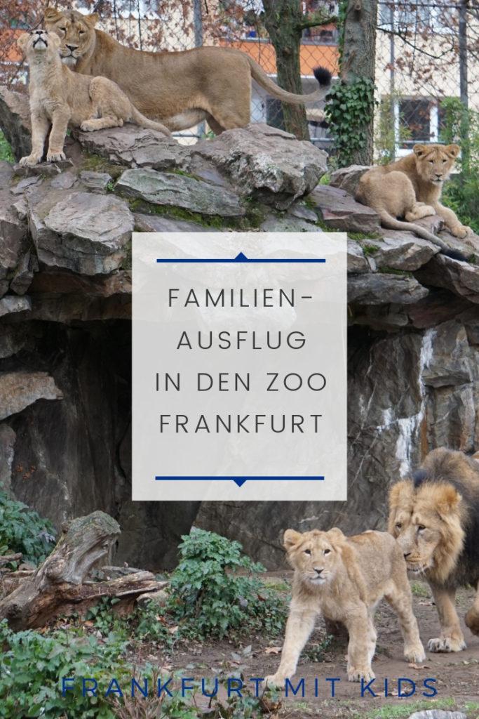 Familienausflug in den Zoo Frankfurt