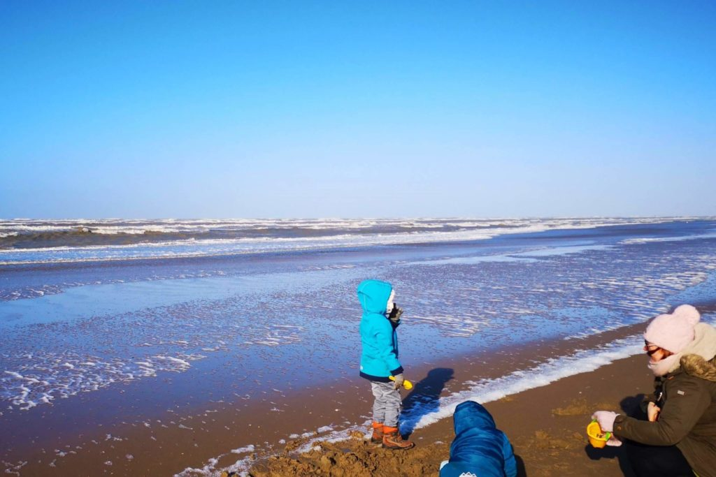 Strand in Zandvoort - sehr stürmisch aber wunderschön