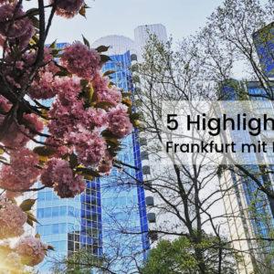 Meine 5 Highlights für Frankfurt mit Kindern