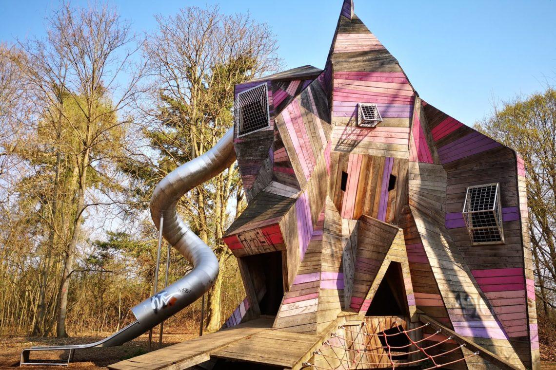Das Highlight auf dem Abenteuerspielplatz in bad Nauheim