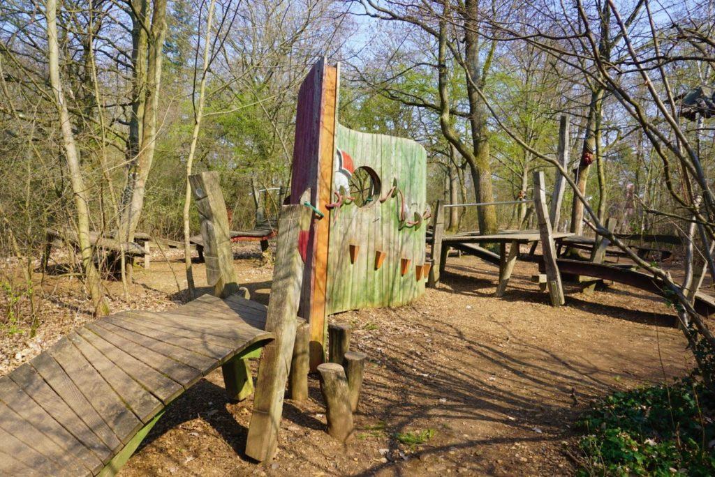 Abenteuerspielplatz Bad Nauheim Steg der Verzweiflung