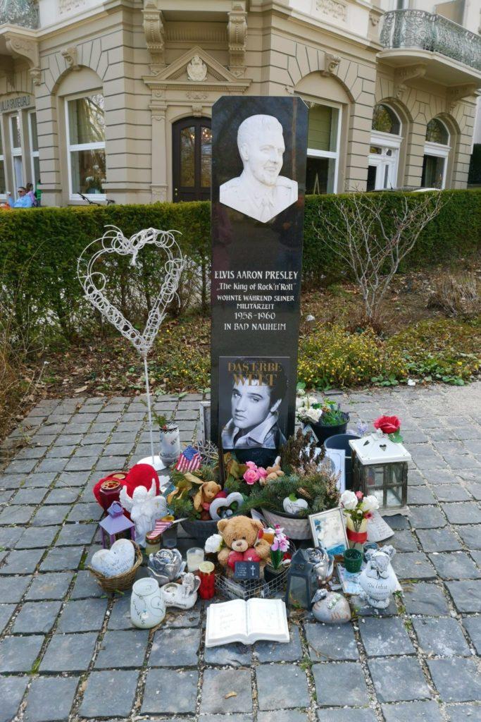 Elvis Presley Denkmal in Bad Nauheim
