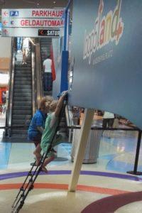 Der Indoorspielplatz im Loop 5 Weiterstadt ist ein toller Ausflug mit Kindern bei Regen