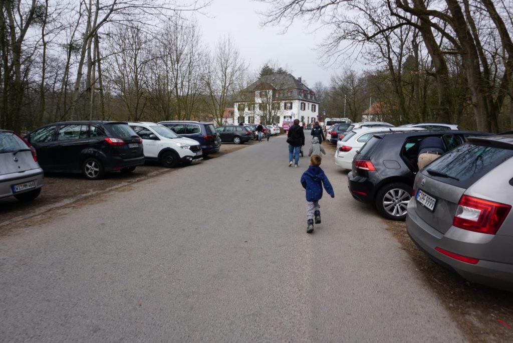 Kostenloser Parkplatz Fasanerie Wiesbaden