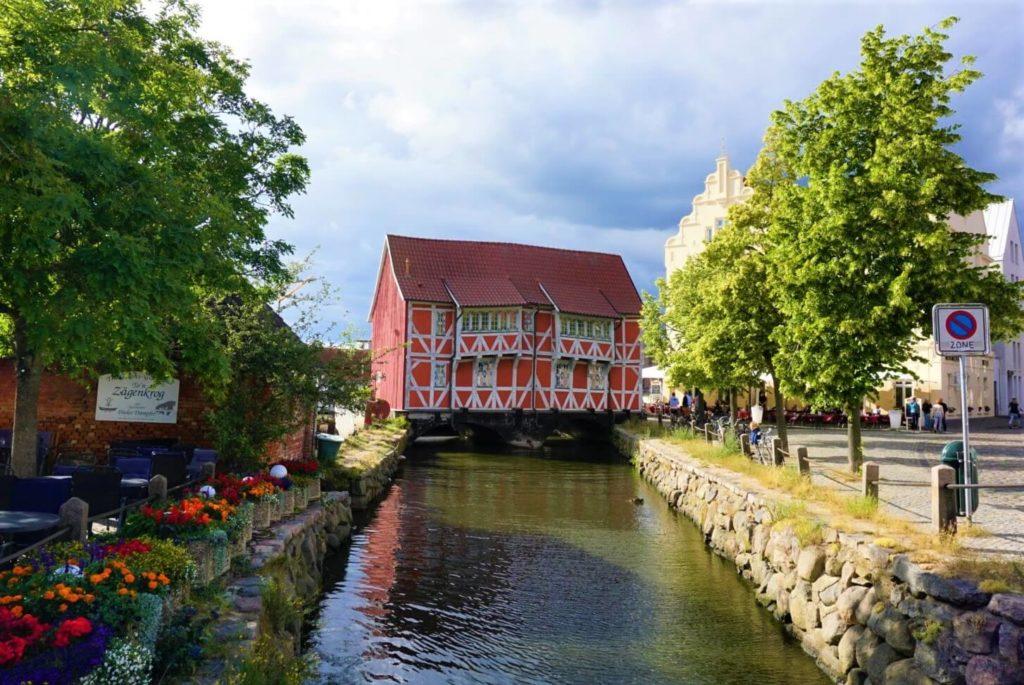 Altes Gewölbe Fachwerkhaus in Wismar
