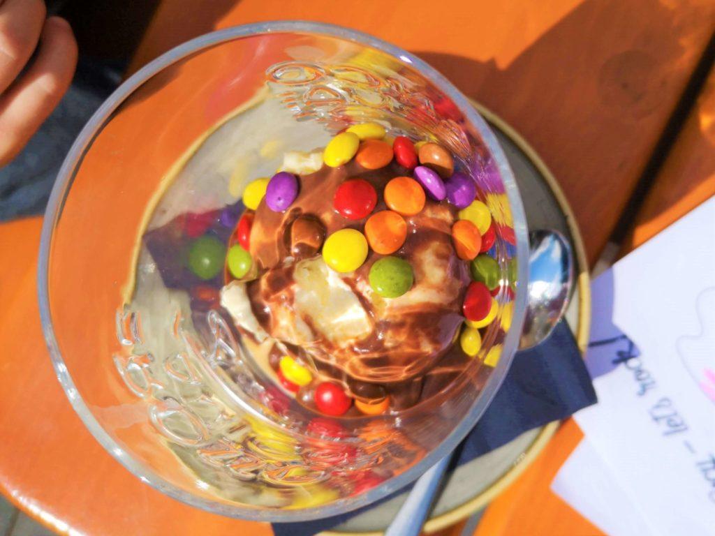 Smarties Eis für Kinder Stralsund