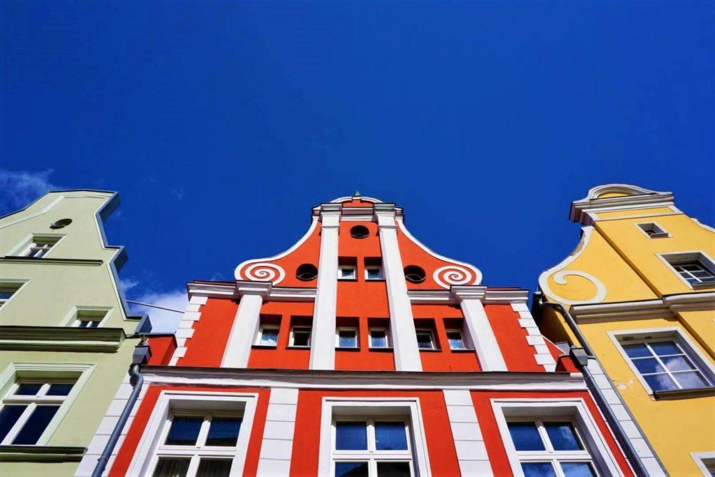 Stralsunder Häuserfront