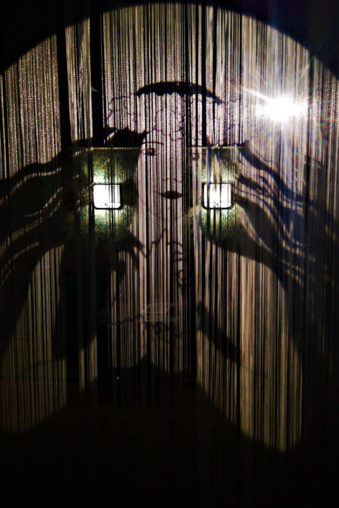Vulkaneum Schotten mit Lichteffekten