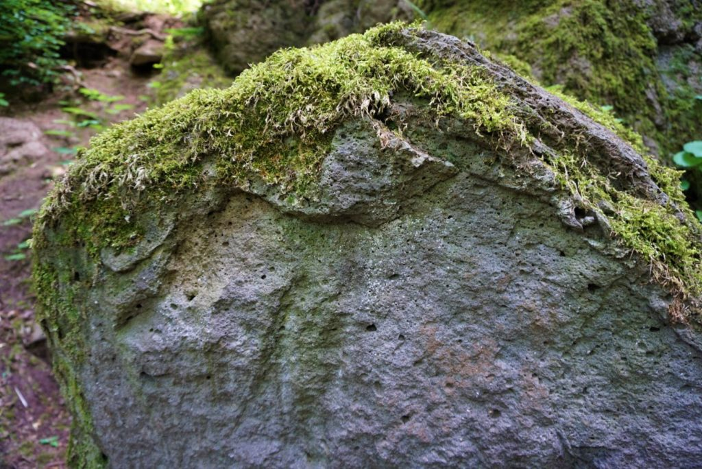 Vulkanisches Gestein Schotten