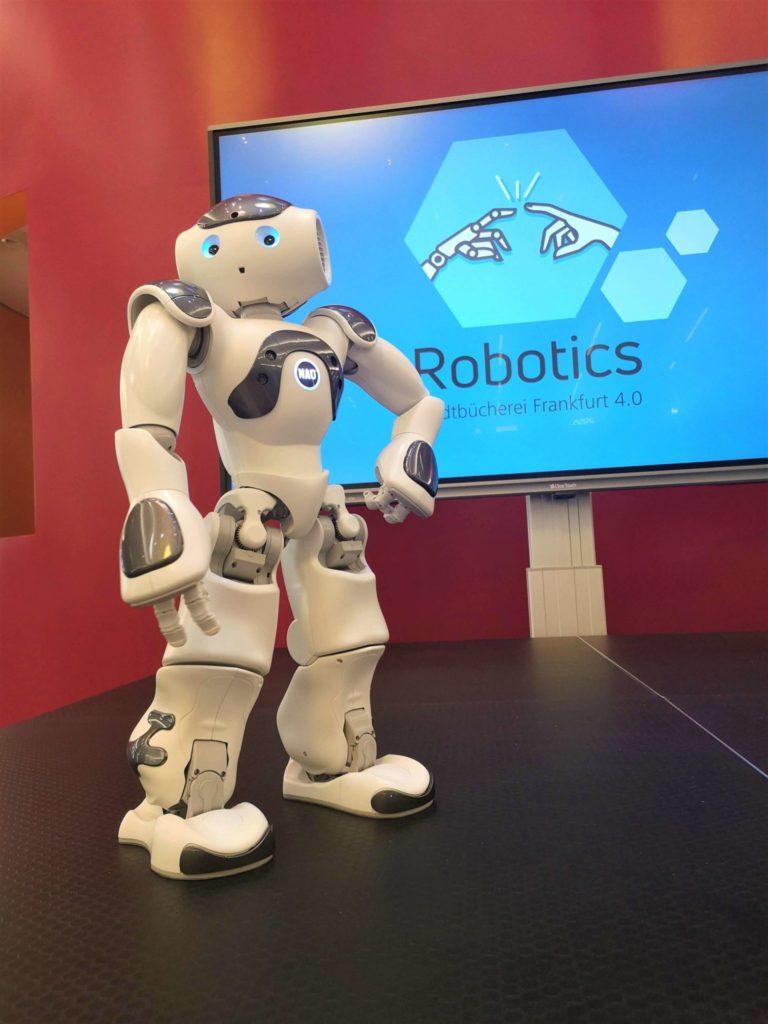 NAO Roboter Stadtbücherei