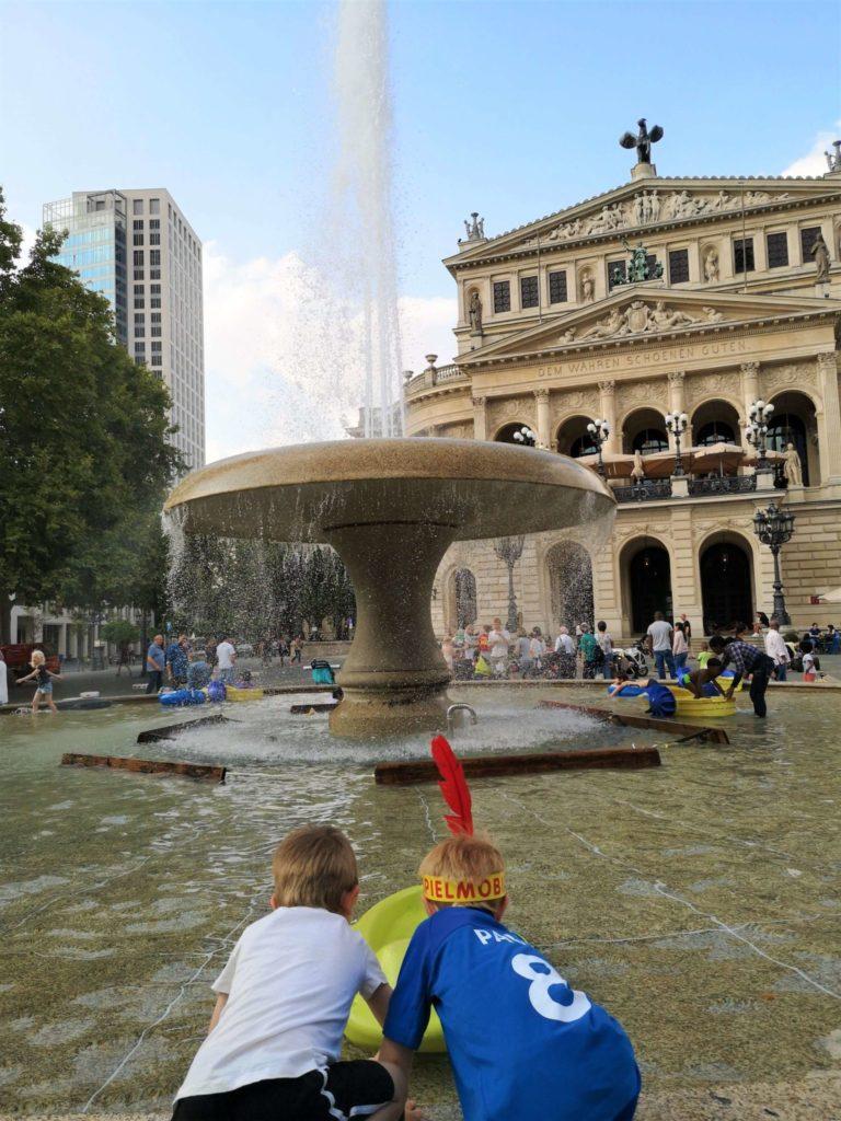 Wasserspiele Lucaebrunnen Frankfurt