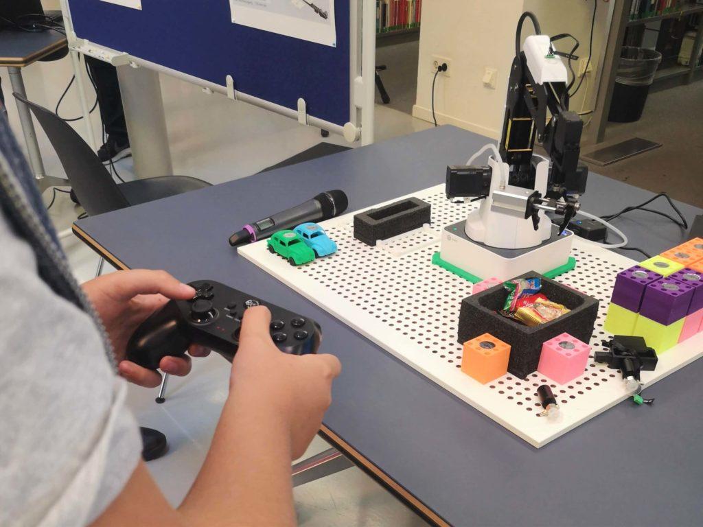 Roboterarm zum Spielen