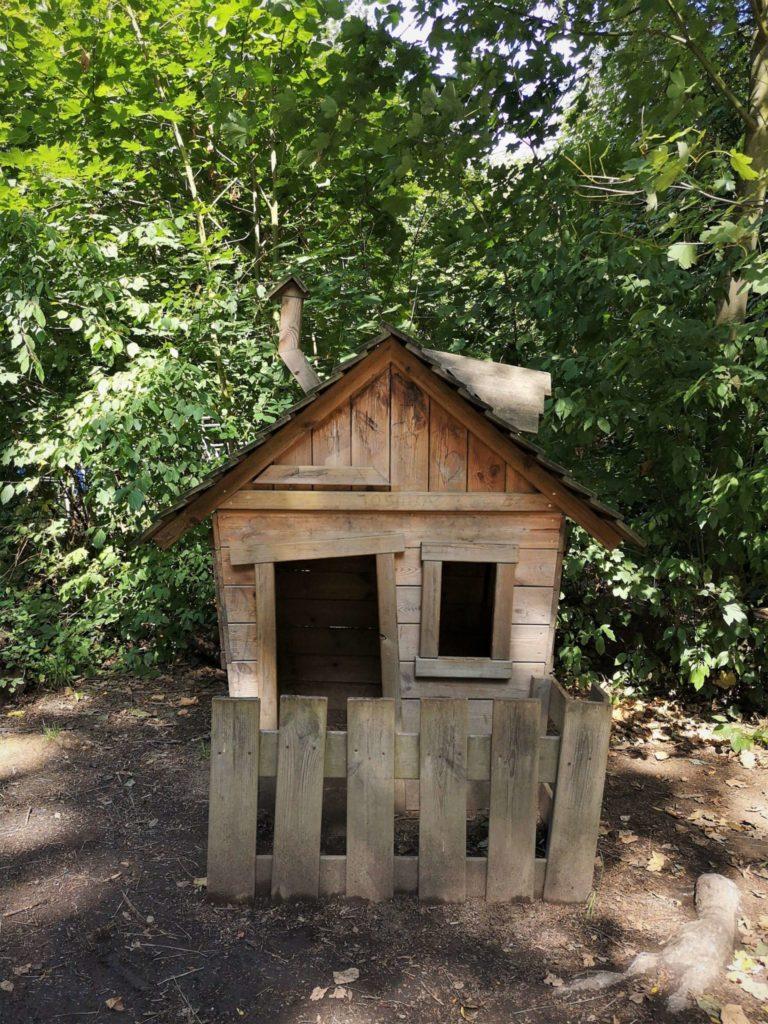 Ein Spielhaus für die Kleinsten