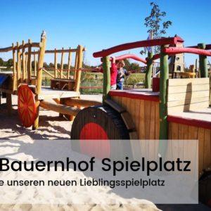Traktor Bauernhof Spielplatz Riedberg
