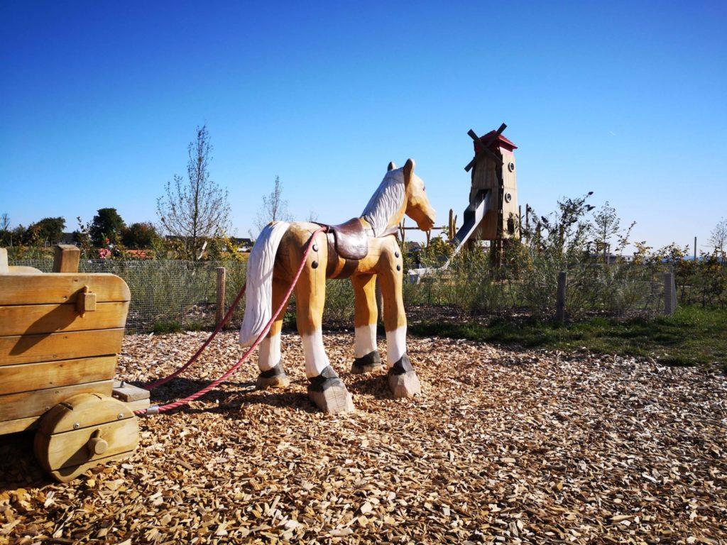 Pferdereiten ist auch möglich