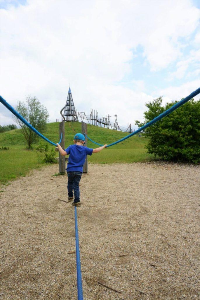 Balancieren Spielplatz