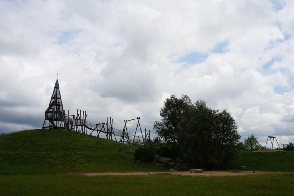 Übersicht Abenteuerspielplatz Hochheim