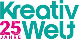 Logo Kreativ Welt - 25 Jahre