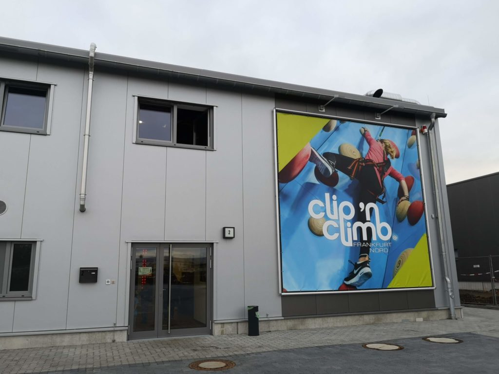 Kletterhalle clip'n climb Frankfurt