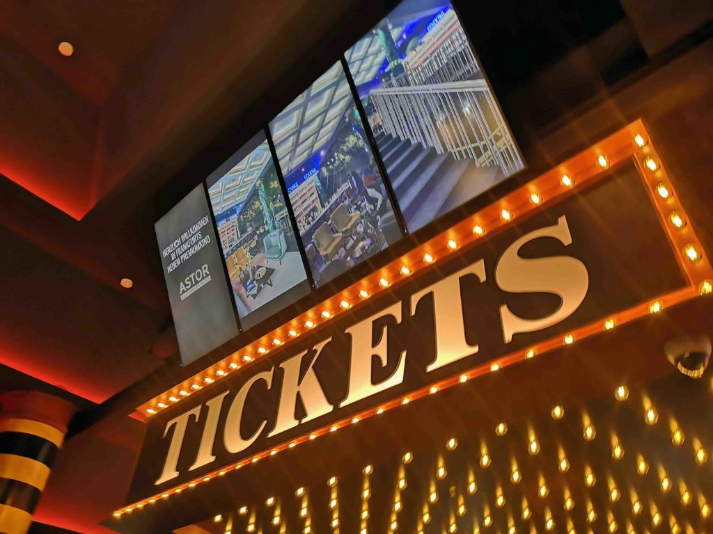 Tickets im Kino kaufen
