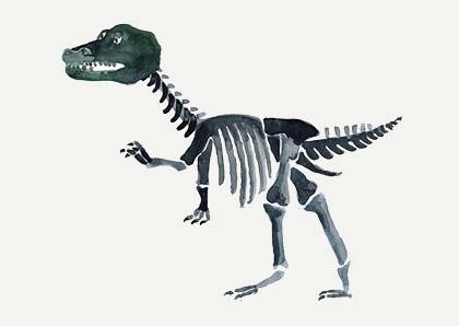 Flyer Dinosaurier