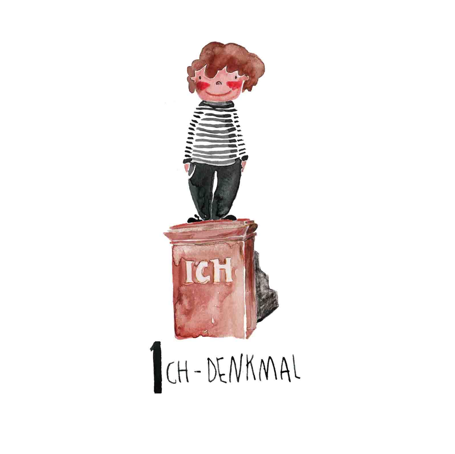I ICH-Denkmal